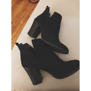 Size 11 black booties